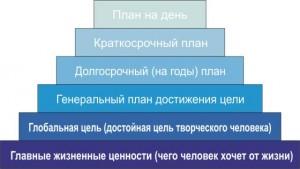 виды целей1