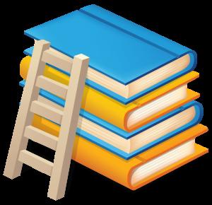 книги и лестница