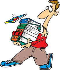 чувак с книгами